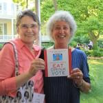 Spoons founder, Julia Jordan with Advisory Board member, Marion Nestle