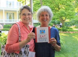 Spoons founder, Julia Jordan with Advisory Board member, Marion Nestle