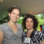 Spoons Programs Director, Stacey Ornstein with TDPP Program Leader, Hope Mirlis