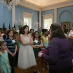 The day wouldn't be complete without a tour of Gracie Mansion!