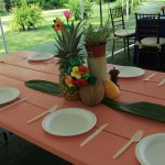 A beautifully set table!