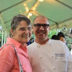 Spoons founder Julia Jordan and Gracie Mansion Chef, Jose Velasquez