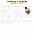 The History of Hot Cocoa